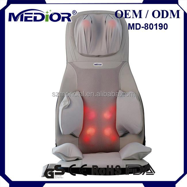 shiatsu massage chaise ballonnet de luxe chaise de massage appareil de massage id de produit. Black Bedroom Furniture Sets. Home Design Ideas