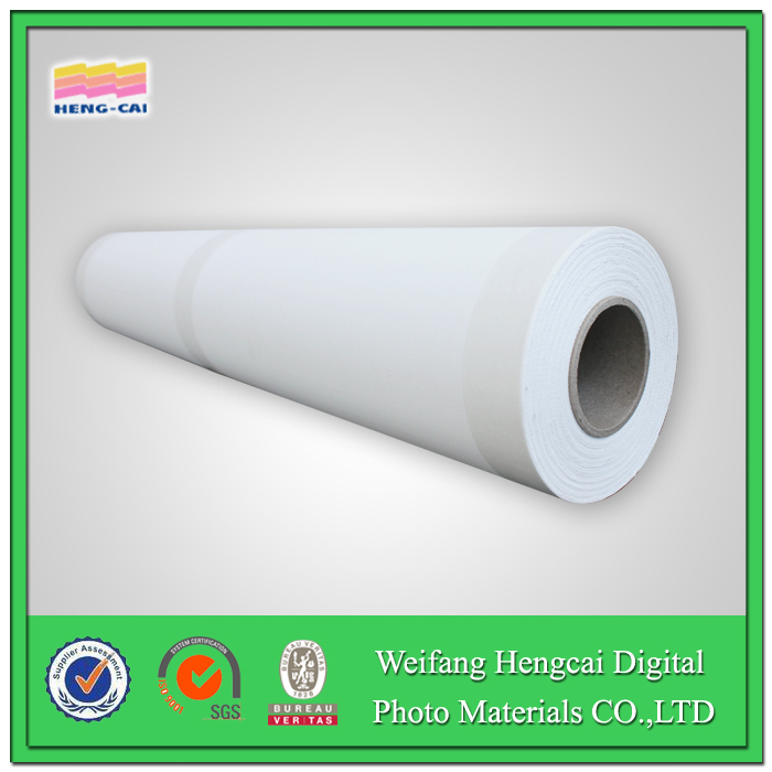bright matte,water resistant wide format polyester inkjet canvas 600D