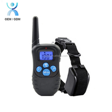 Professional remote pet accessories no bark collar for training dog