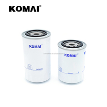 oem 12182654407 oil filter cartridge diesel oil filter assembly JX-6133 use for komastu and hyundai
