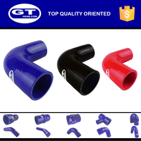 professional OEM auto parts manufacturer/fabric tube/ 90 degree silicone hose