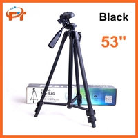 "53"" Aluminum professional camera tripod with Carrying Case for all camera DV phone"