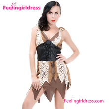 One Piece Cave Girl Halloween Costume Women Brazil Carnival Costumes