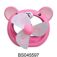 Lovely cartoon bear shaped mini USB fan for children gifts