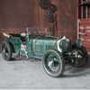 Iron retro car models European Home Furnishing decoration antique handicrafts