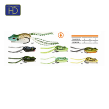 High Quality HYD-HZ-F006 Frog Lure For Fishing