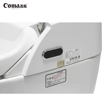 China manufacture professional automatic flush toilet,bidet commode siphonic toilet