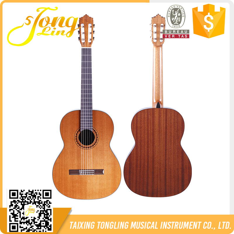 TLGC-04 Tongling Factory Solid A Grade Spruce classical guitar 39""