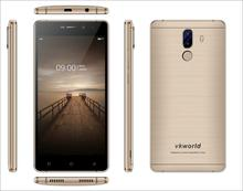 Sample Available In Stock 5.5 inch Dual Cemara Smart Phone Vkworld S5 Android 7.0 Fingerprint Mobile Phone 13MP+2MP Front5MP