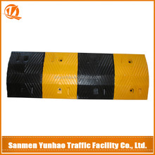 Chinese manufacturers direct sales high quality rubber speed bump,rubber road speed bump