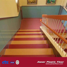 Indoor stairs in roll PVC Vinyl Sport Floor Covering