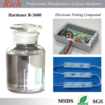Electronic Potting Compound Curing Agent, Epoxy Floor Coating Hardener, Epoxy Adheisve Hardener R-3600