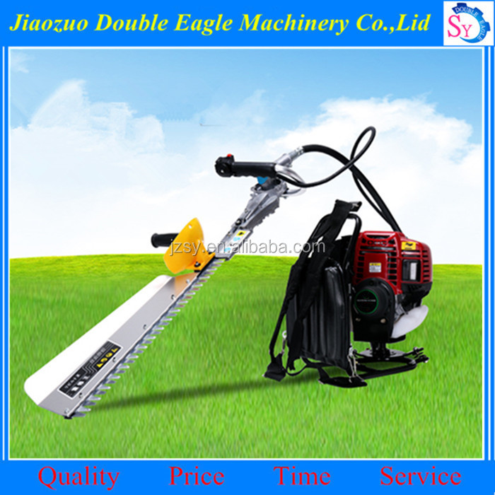 Easy to operate CE authentication Backpack hedge trimmer/22.5CC 2 stroke Hedge pruning machine