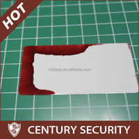 high quality water sensitive label water damage sticker