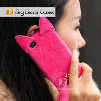 for iphone 4/5/5s/5c fur phone case