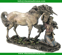 Innovative Gift brass small horse craft