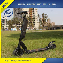 "2016 Super Luxury 8"" Kick-Stand Electric Scooter F2-C for Adults, easy carrying with light weight"
