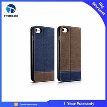 Wholesale Western Genuine Cowboy Leather Wallet Case For iPhone 7