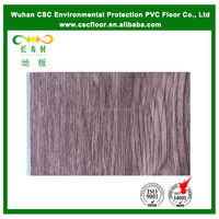 5mm Simple Color Wood Look PVC Plastic Flooring Plank