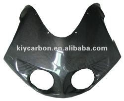 Carbon fiber parts top fairing for Buell