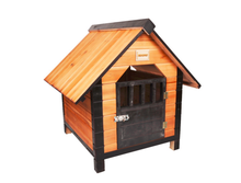 SMDH0001 factory price high quality new design outdoor wooden dog house