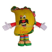 sales promotion INFLATABLE hot dog COSTUMES