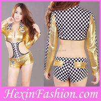 Wholesale new style short dress costume sexy school girls