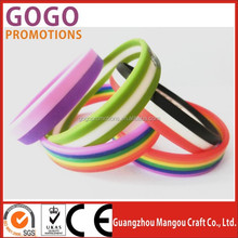 Cheap Promotion Band Custom Logo Silicone Bracelet for President/Mayors Election, Silicone bracelet with customized logo