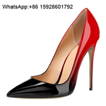 China factory shoes Pointed toe Sexy high heel brand name shoes OCL2
