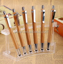 used for Iphone, Ipad touch screen stylus pen custom logo promotional bamboo stylus pen