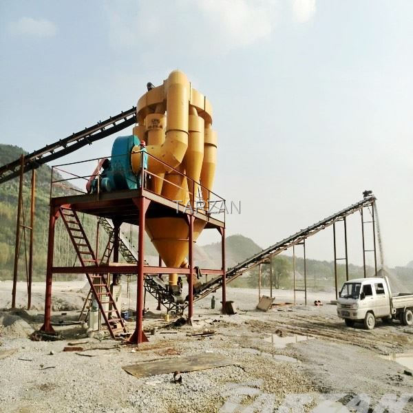 Stable performance sand stone air classifier for sale