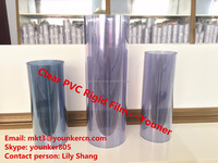2016 hot sale high quality Blister packing transparent rigid pvc film