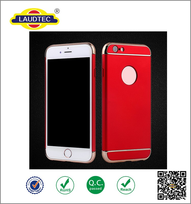 protective armor shockproof hard case electroplate cover for iphone 6/6s