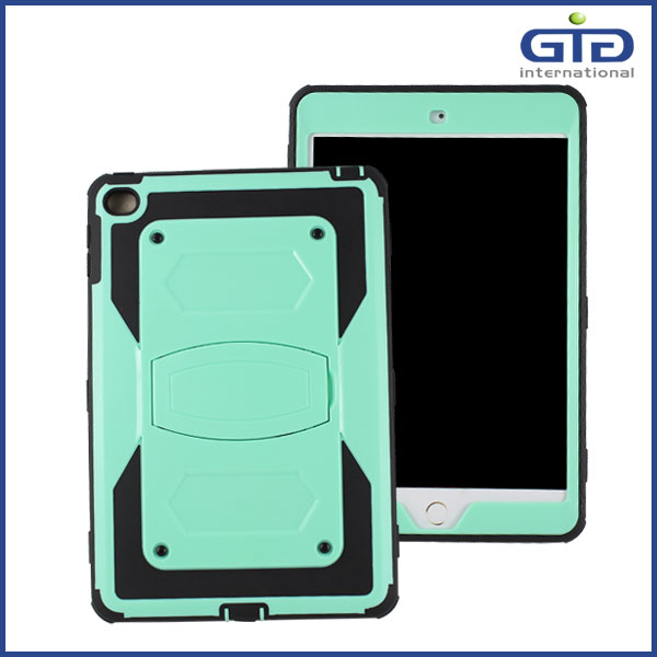 [GGIT] Tough Strong Shockproof Full Body Case 3 in 1 Kickstand Cover for Ipad Mini 4