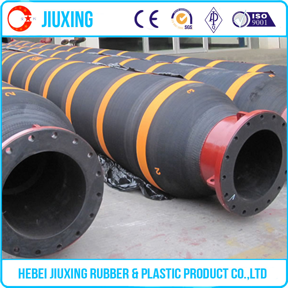 Best selling flexible large diameter floating dredge hose with flange