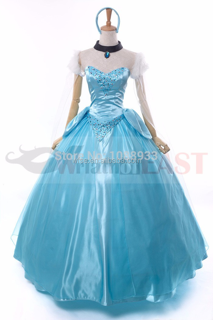 adult cinderella costumes princess cinderela sexy dress cosplay party halloween costumes for women fantasia plus size custom