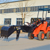 DY620 Farming agriculture thumb clamps bucket loader digging machine