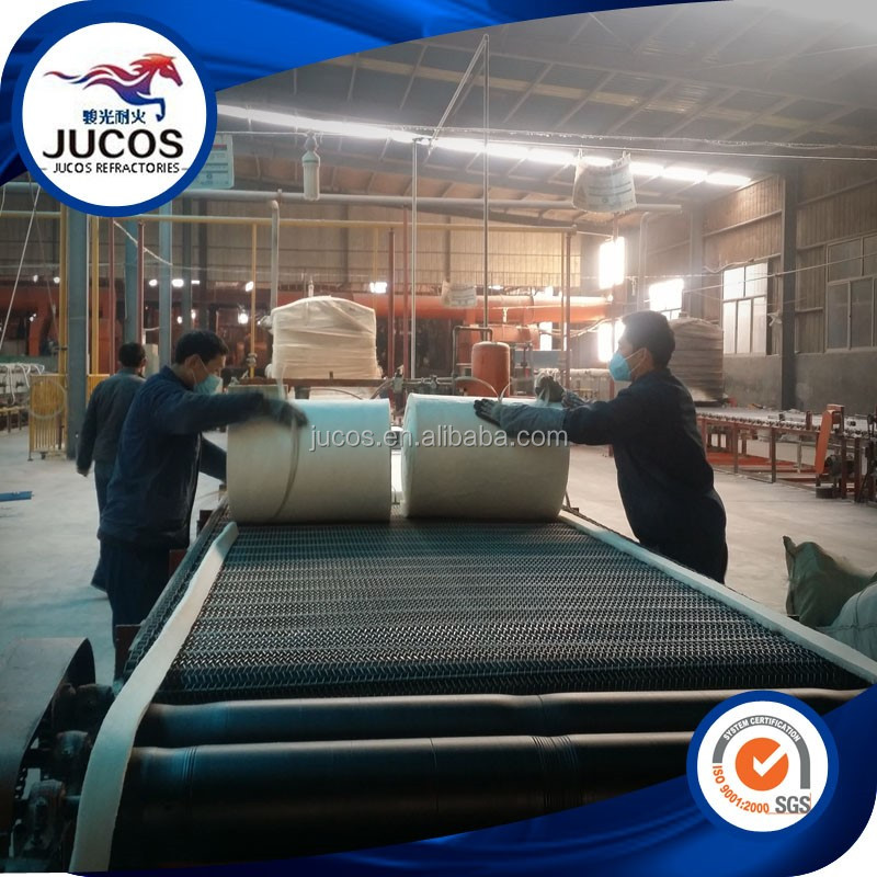 Industrial ceramic fiber blanket used for gas oven insulation, insulation blanket