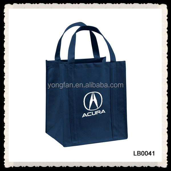Recycled Non Woven Bag 6 Bottle Wine Tote Bag PP Non Woven Tote Bag
