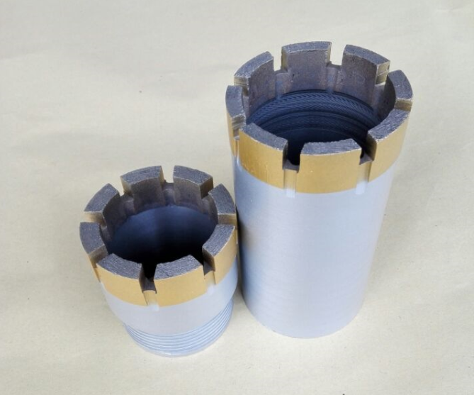 diamond core bit for sandstone