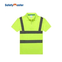 Safetymaster reflective security polo shirt