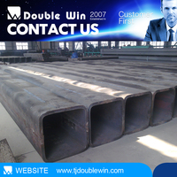 high-frequency GB/T3094-2000 steel pipe of black square steel pipe