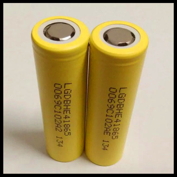 LG CHEM original rechargeable batteries lithium ion ICR18650HE4 3.7v 2500mAh LG he4