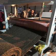Factory price PVC single color car mat extrusion machine carpet making machine coil mat machine