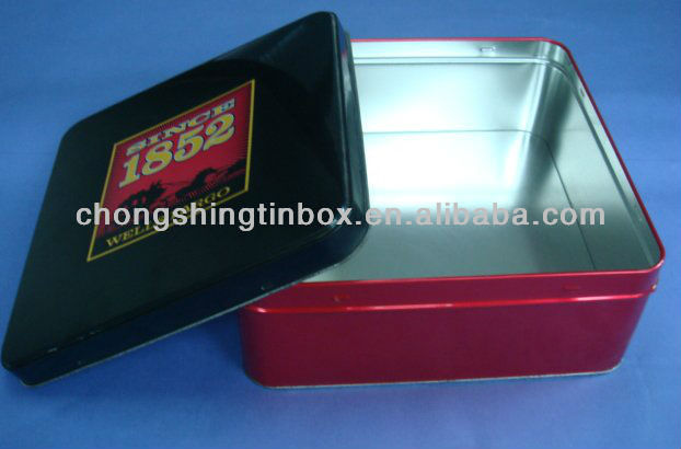 Metal Embossed Tin Box