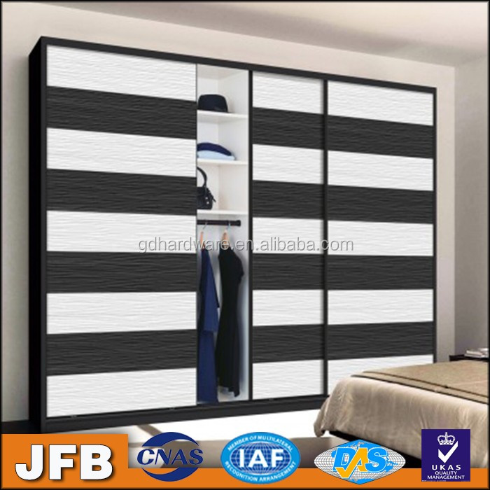 Fear price Italian design wood sliding door hardware bedroom wardrobe sliding door