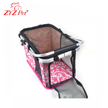 Car or bike package carrier pet bags for air travel pet carrier duffle bag