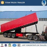 Titan Earthmoving Off Road Dump Truck semi Trailer