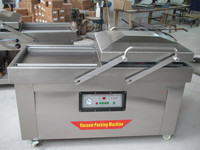 Double vacuum packing machine with famous brand pump DZ(Q)-500/2SB