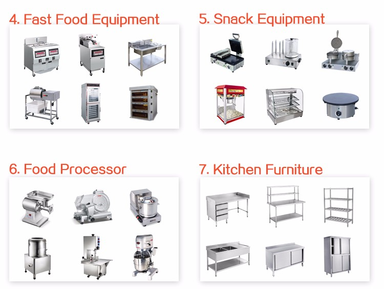 Industrial Quality Stainless Steel Commercial Hotel Restaurant Kitchen  Equipment Listone Stop Solution